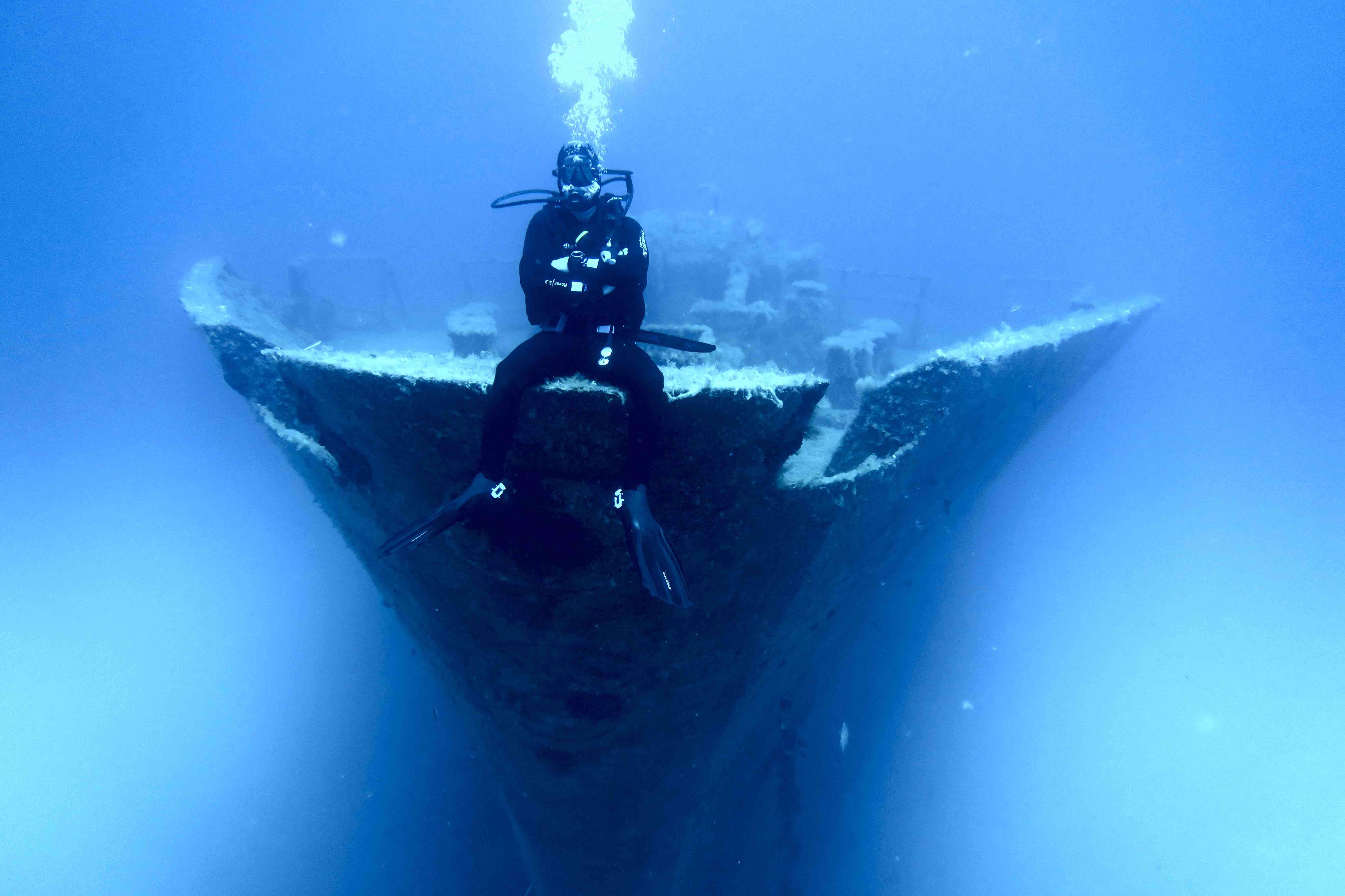 Inmersión de buceo para ver el Um El Faroud