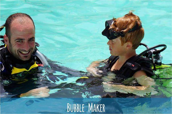 Corso di Bubble Maker