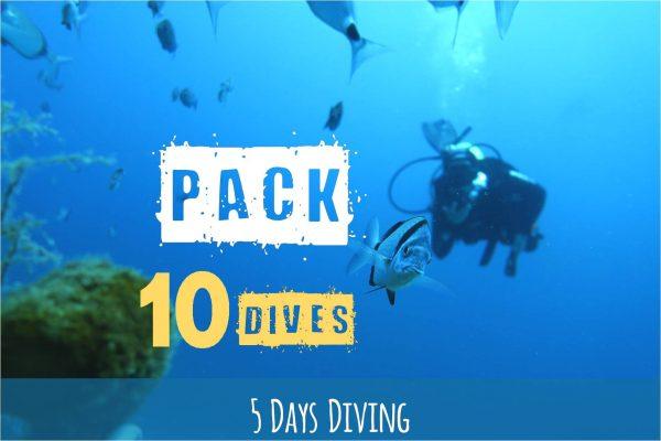 Pacchetto di 10 immersioni