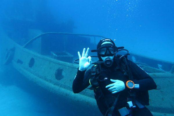 Curso especialidad de buceo profundo